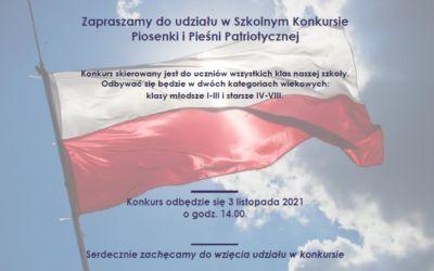 Szkolny Konkurs Piosenki i Pieśni Patriotycznej